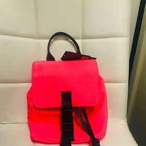 Forever 21 Neon Pink Mini Backpack